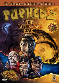 Puphedz Tattle-tale Heart DVD